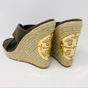 Tory Burch Wedge Sandals 6.5